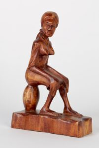 12c($35)-Seated woman-7.5x5x2