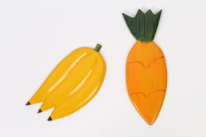 19c_20c($15e or $25pair)-Bananas _ Carrot-12x4.25x.5