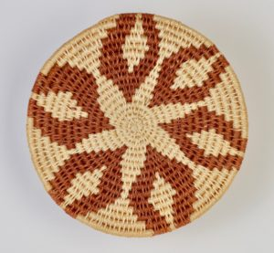 2o($15)-Tight-woven brown_tan pot holder-7.5