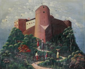 6p($50)-Citadelle-20x24 Unmounted Canvas (Jn Louis)