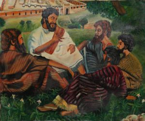 8p($50)-Jesus and Disciples-20x24 (Ayt Donix)